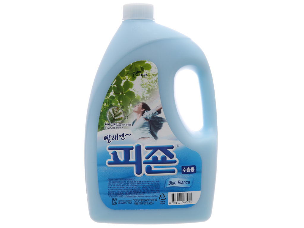 Nước xả vải Pigeon Hàn Quốc hương Bianca chai 2.5L 1
