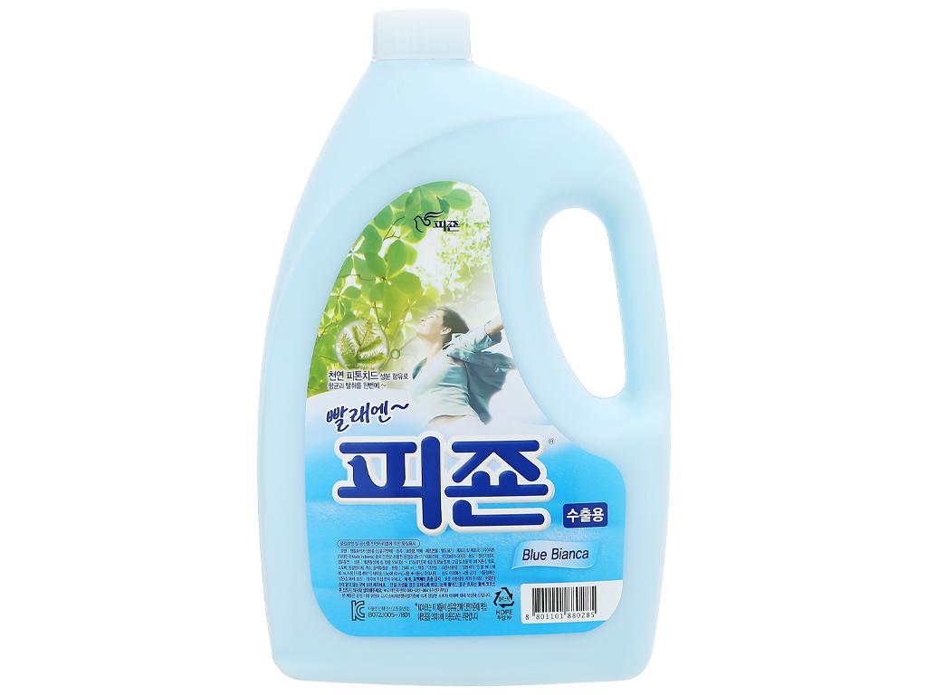 Nước xả vải Pigeon Hàn Quốc hương bianca chai 2.5 lít 1