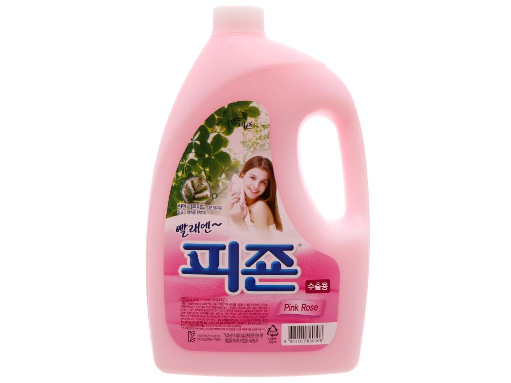 Nước xả vải cho bé Pigeon hương hoa Hồng chai 2.5L 1