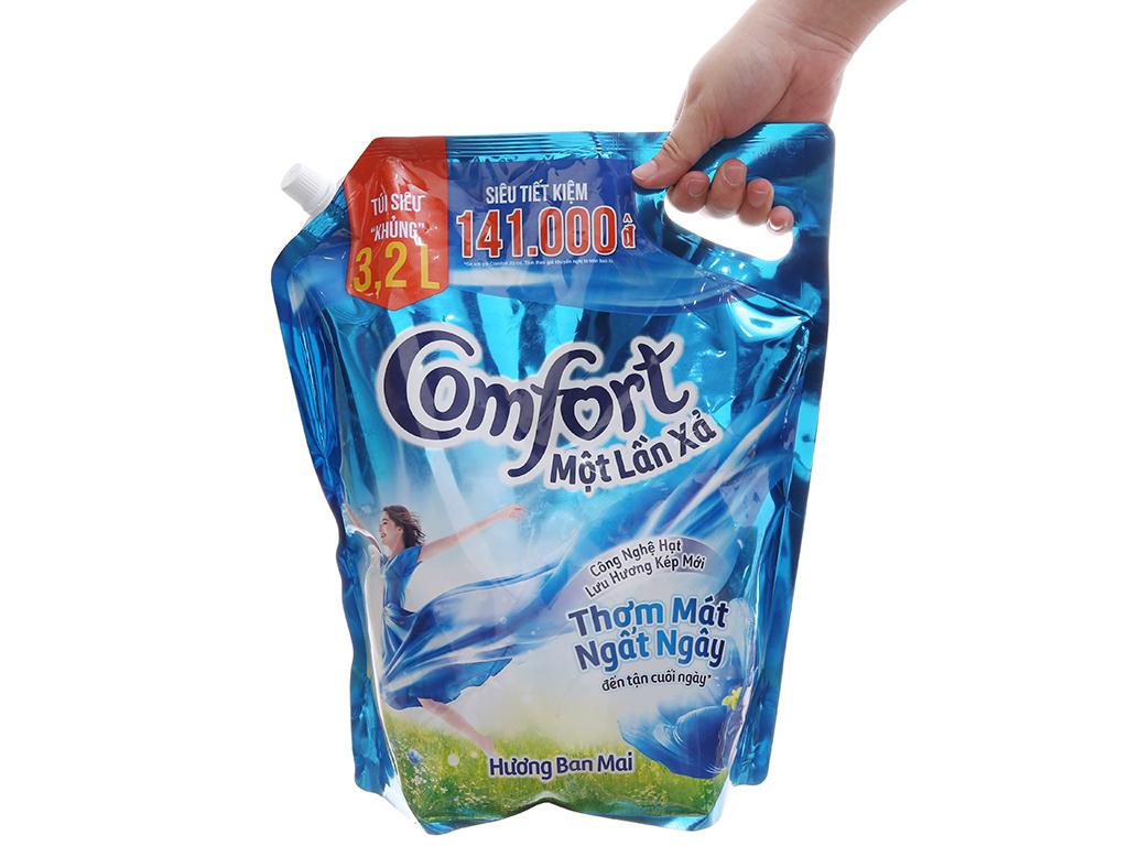Comfort một lần xả hương ban mai túi 3.2 lít 4