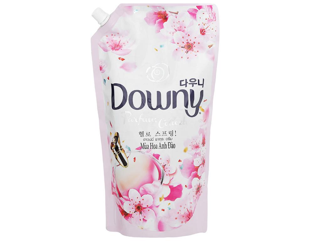 Nước xả vải Downy hương hoa anh đào túi 1.5 lít 2
