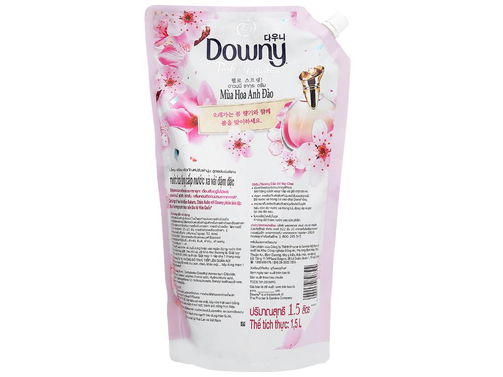 Nước xả vải Downy hương hoa anh đào túi 1.5 lít 3