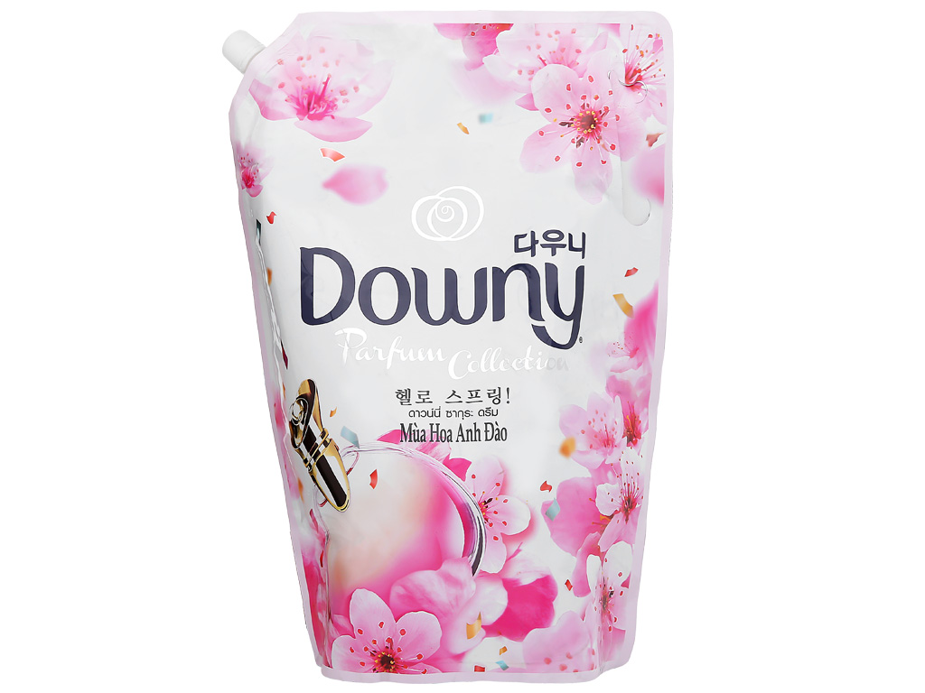 Nước xả vải Downy hương hoa anh đào túi 2.4 lít 3