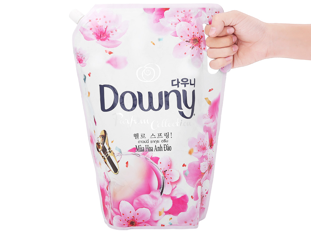 Nước xả vải Downy hương hoa anh đào túi 2.4 lít 6