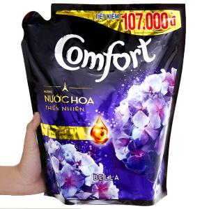Nước xả vải Comfort hương nước hoa thiên nhiên bella túi 2.4 lít