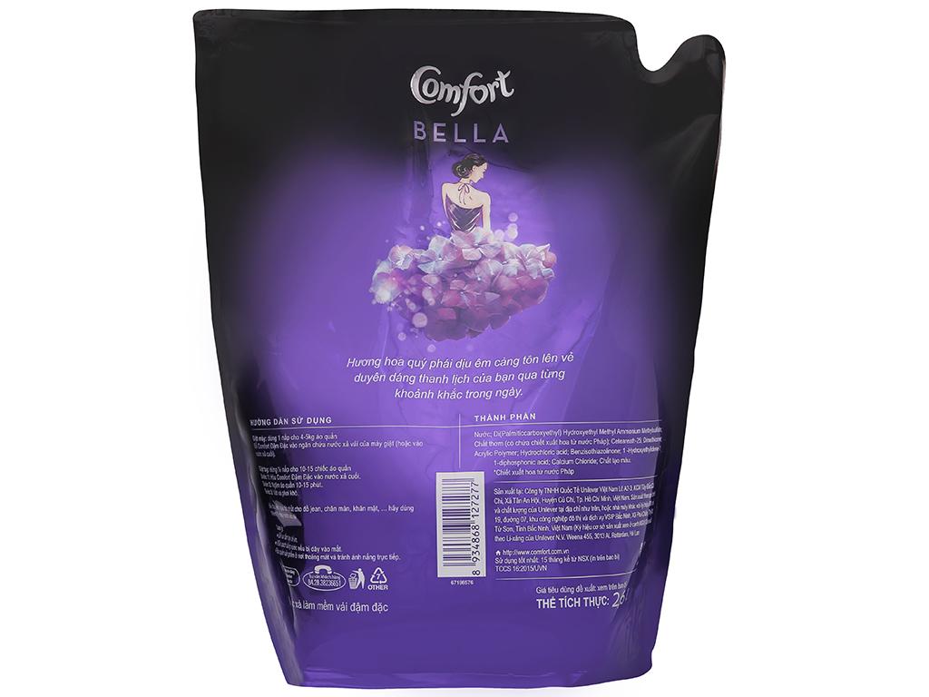 Nước xả vải Comfort hương nước hoa Bella túi 2.6 lít 3