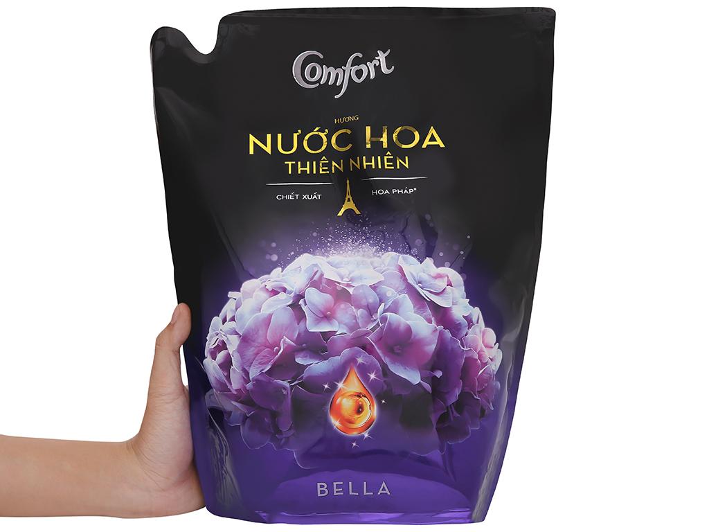Nước xả vải Comfort hương nước hoa Bella túi 2.6 lít 6