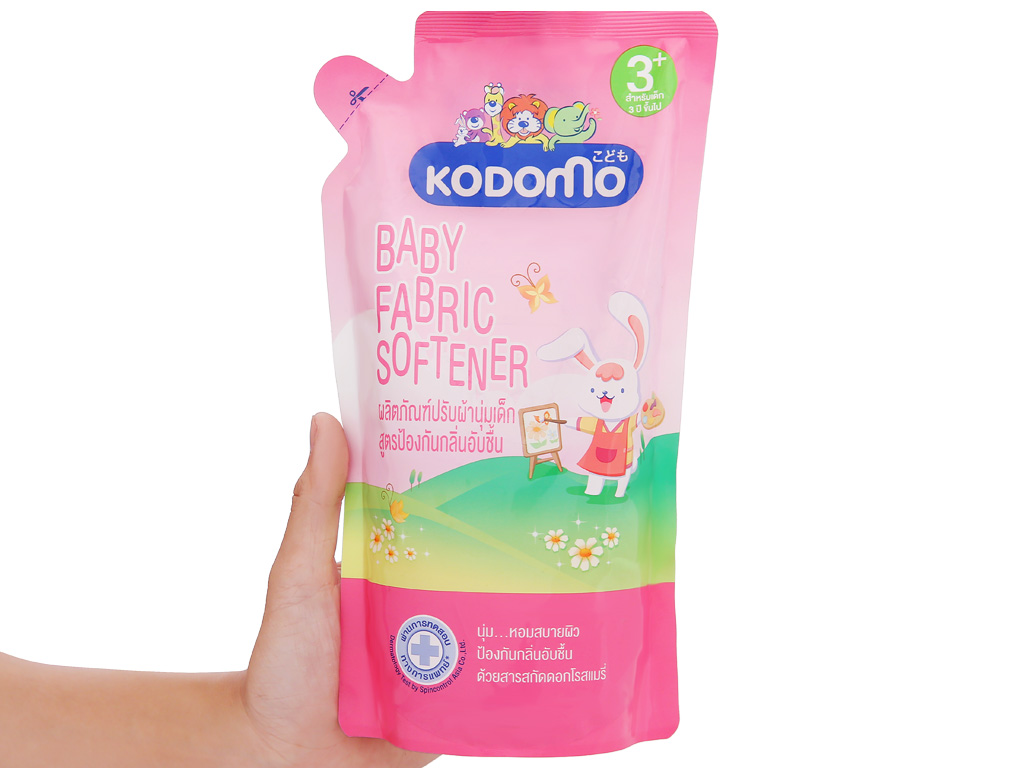 Nước xả vải cho bé Kodomo 3+ túi 600ml 4