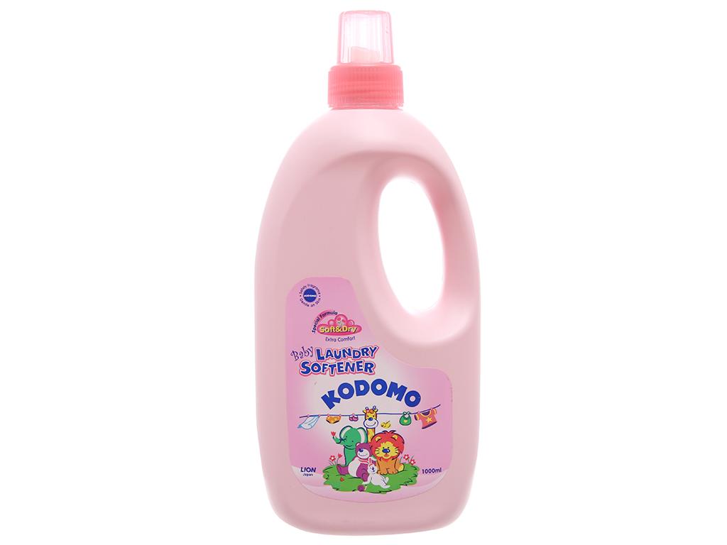 Nước xả vải cho bé Kodomo Soft & Dry chai 1 lít 2