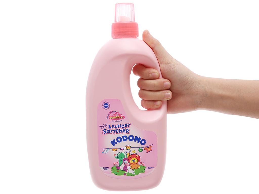 Nước xả vải cho bé Kodomo Soft & Dry chai 1 lít 6