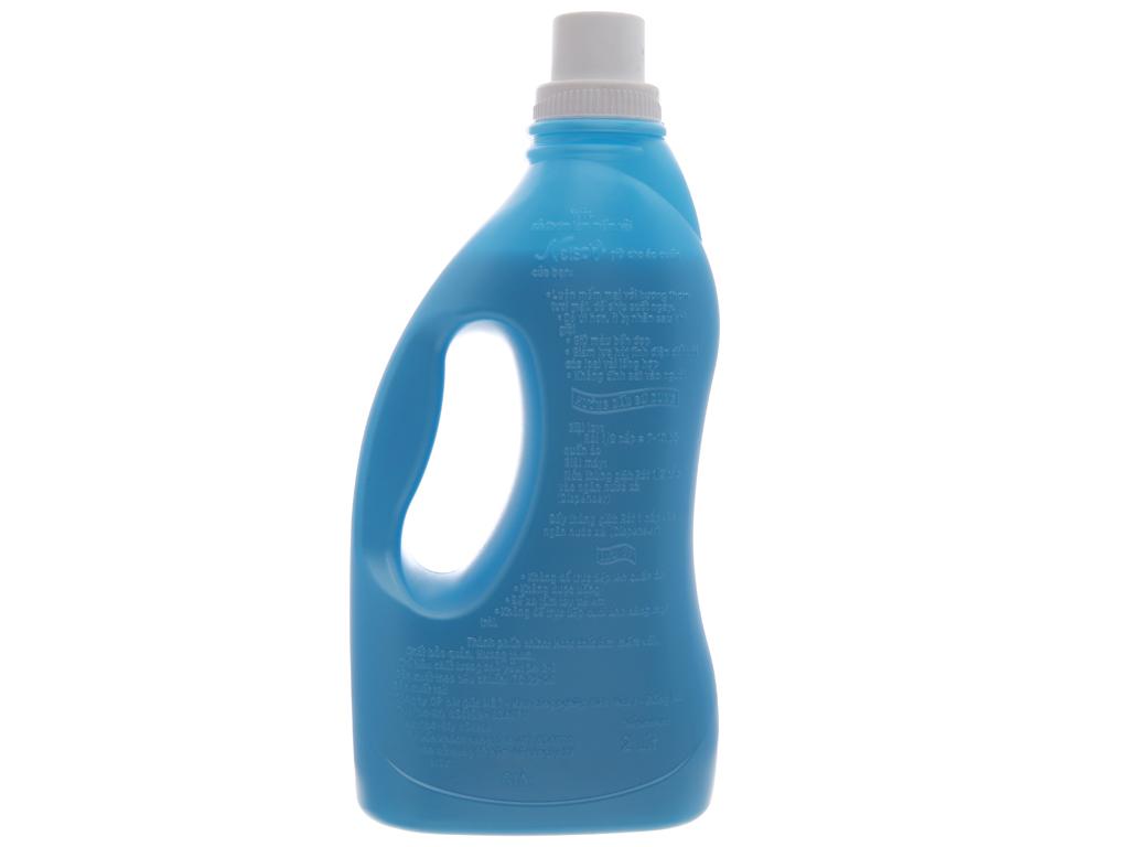 Nước xả vải cho bé Netsoft hương biển xanh chai 2 lít 3