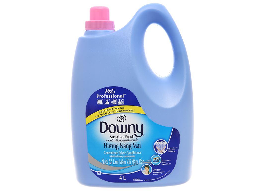 Nước xả vải Downy hương nắng mai can 4 lít 1