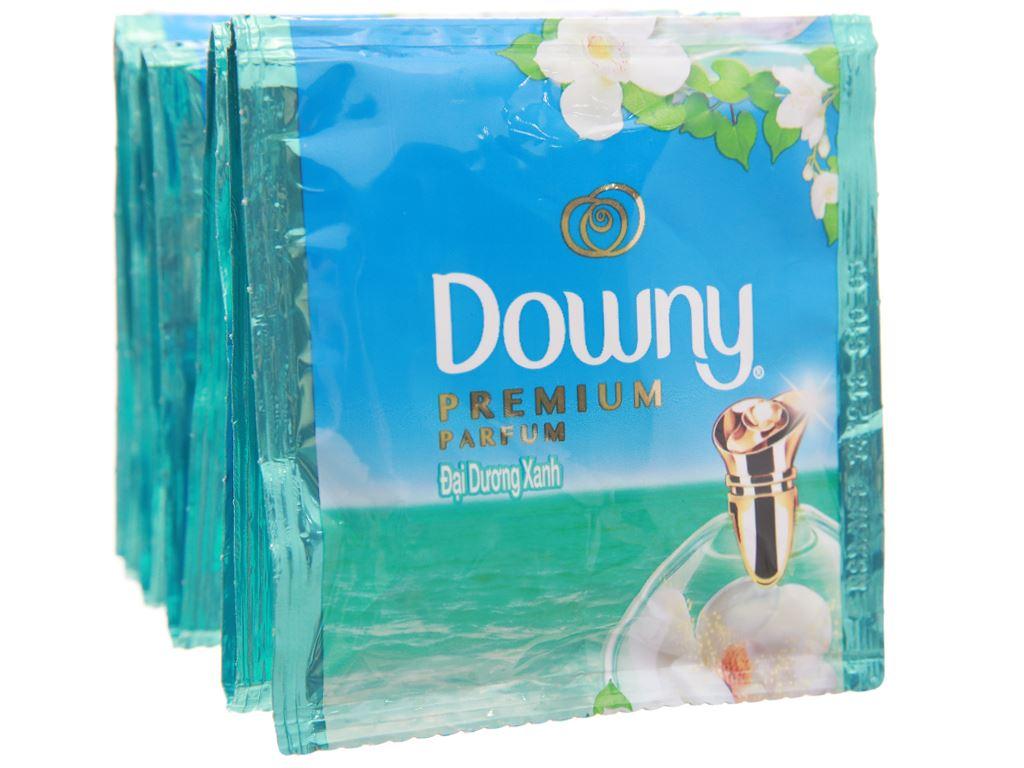 10 gói nước xả vải Downy Premium Parfum đại dương xanh 16ml 1