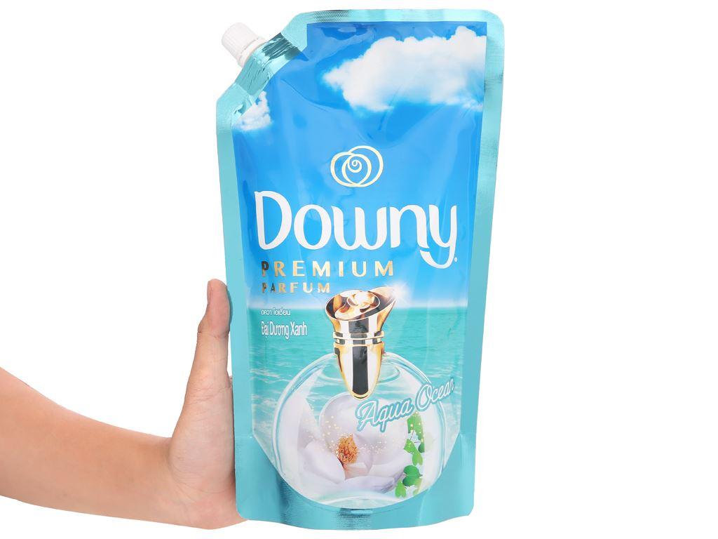 Nước xả vải Downy Premium Parfum đại dương xanh túi 630ml 6