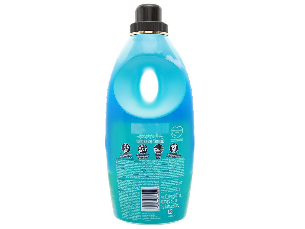 Nước xả vải Downy Premium Parfum đại dương xanh chai 800ml 2