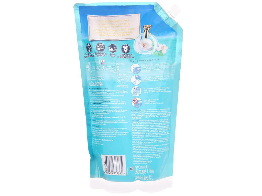Nước xả vải Downy Premium Parfum đại dương xanh túi 1.3 lít 3
