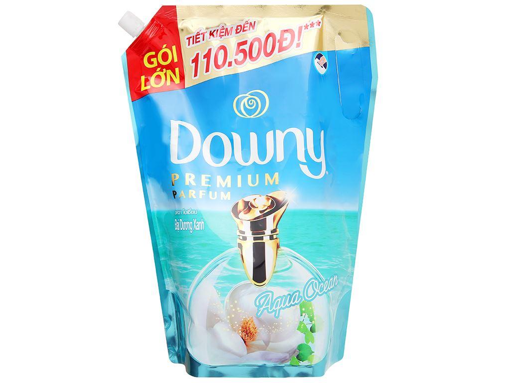 Nước xả vải Downy Premium Parfum đại dương xanh túi 2.1 lít 1