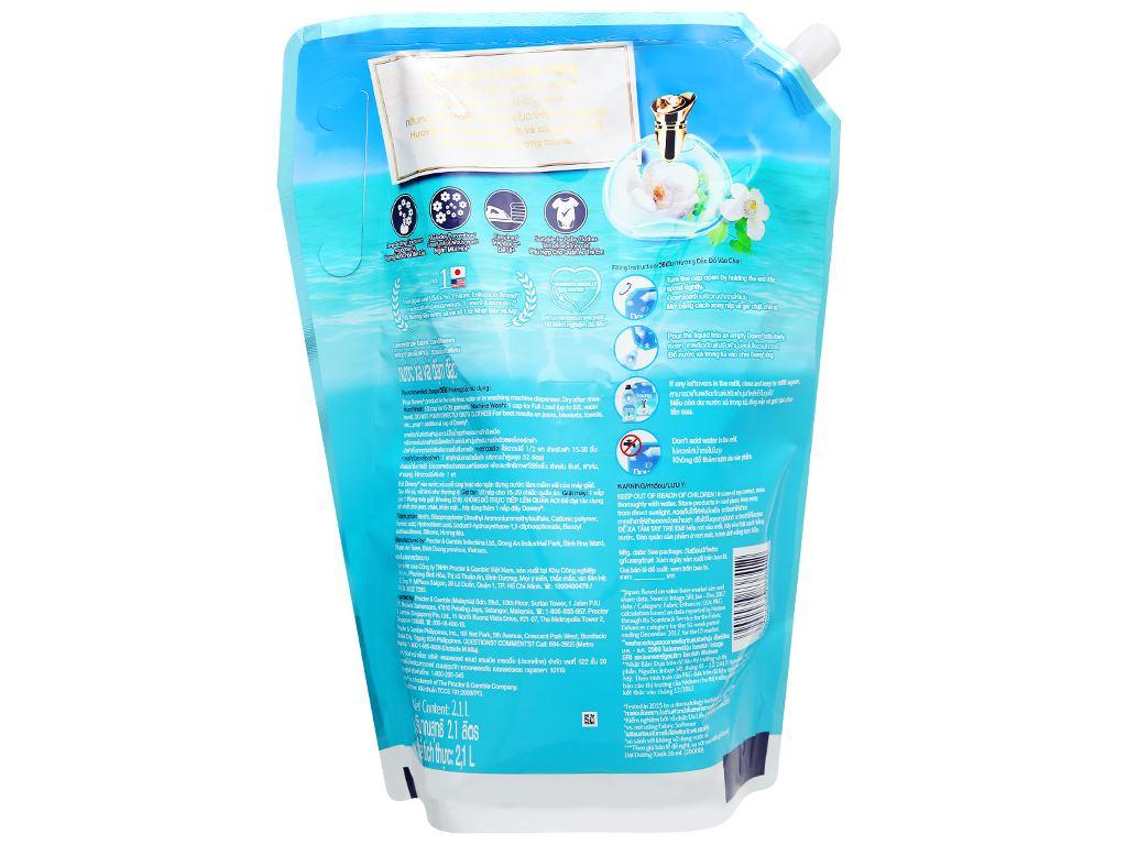 Nước xả vải Downy Premium Parfum đại dương xanh túi 2.1 lít 2