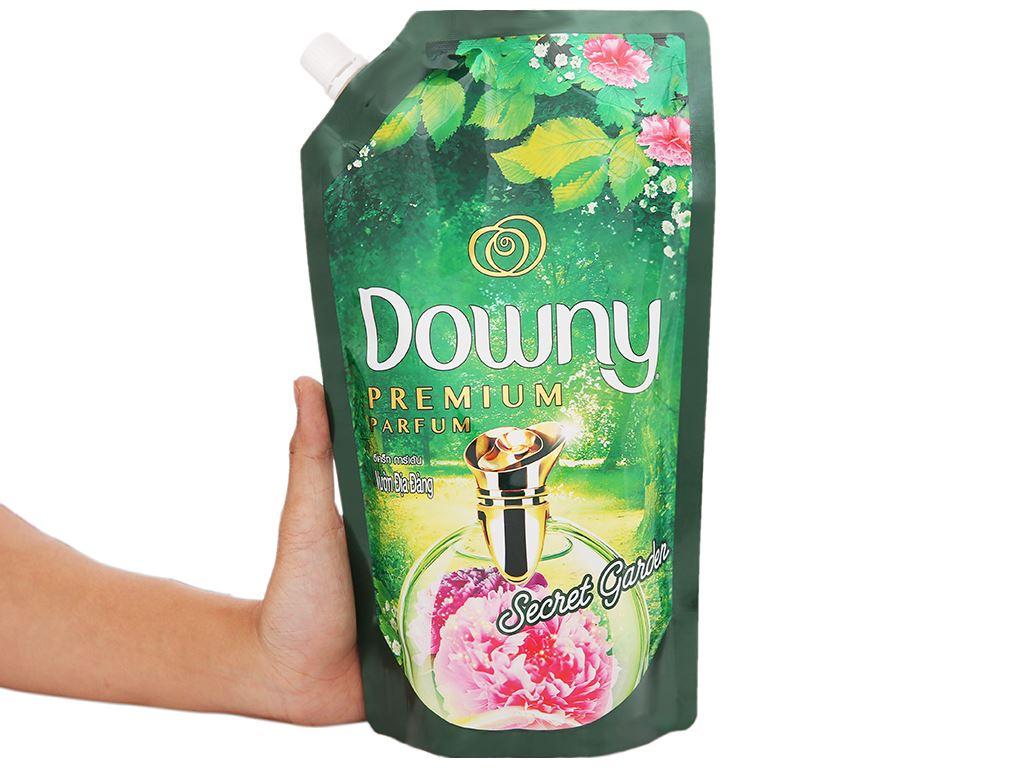 Nước xả vải Downy Premium Parfum vườn địa đàng túi 630ml 5