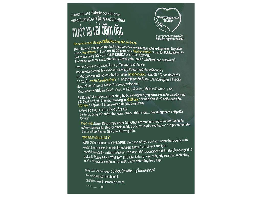 Nước xả vải Downy Premium Parfum vườn địa đàng túi 1.3 lít 4