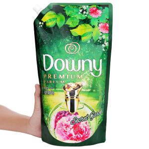 Nước xả vải Downy Premium Parfum vườn địa đàng túi 1.3 lít