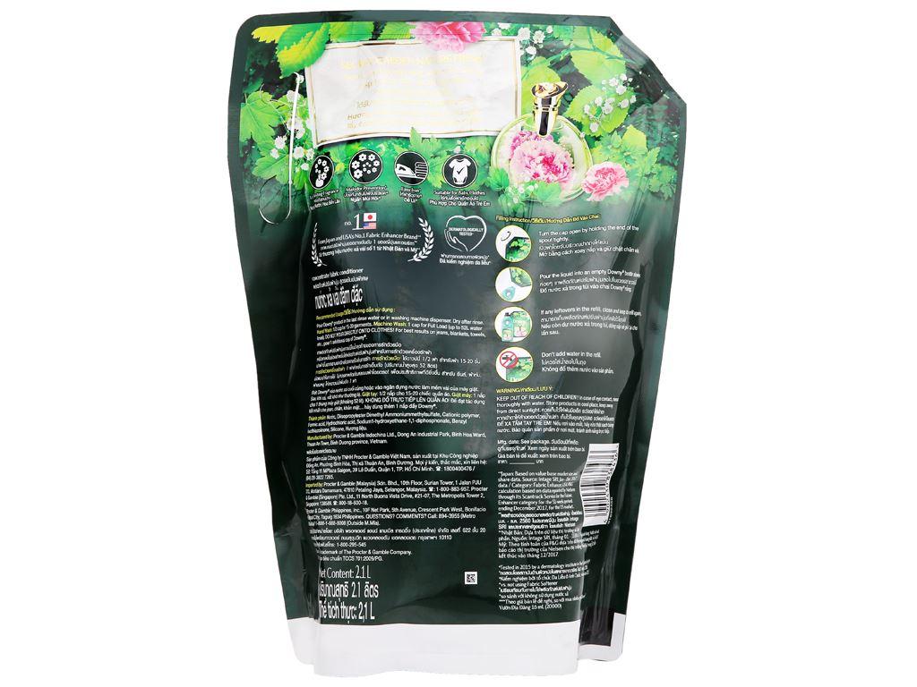 Nước xả vải Downy Premium Parfum vườn địa đàng túi 2.1 lít 4