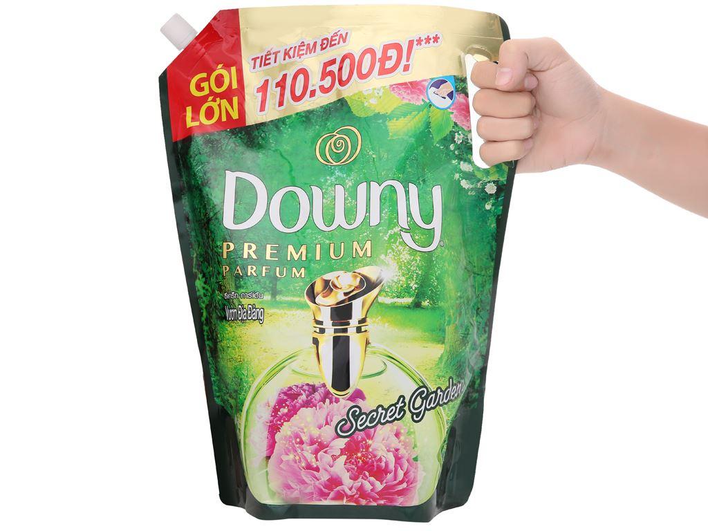 Nước xả vải Downy Premium Parfum vườn địa đàng túi 2.1 lít 8