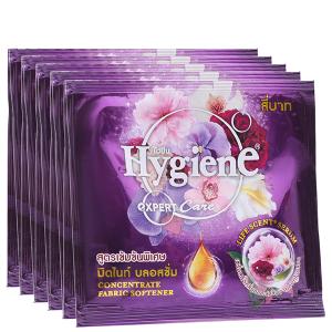 12 gói nước xả vải Hygiene Expert Care tím 20ml