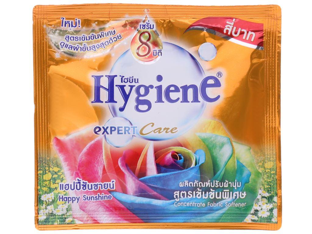 12 gói nước xả vải Hygiene Expert Care cam 20ml 2