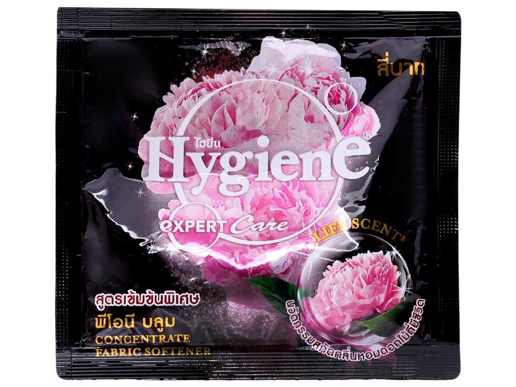 12 gói nước xả vải Hygiene Expert Care đen 20ml 2