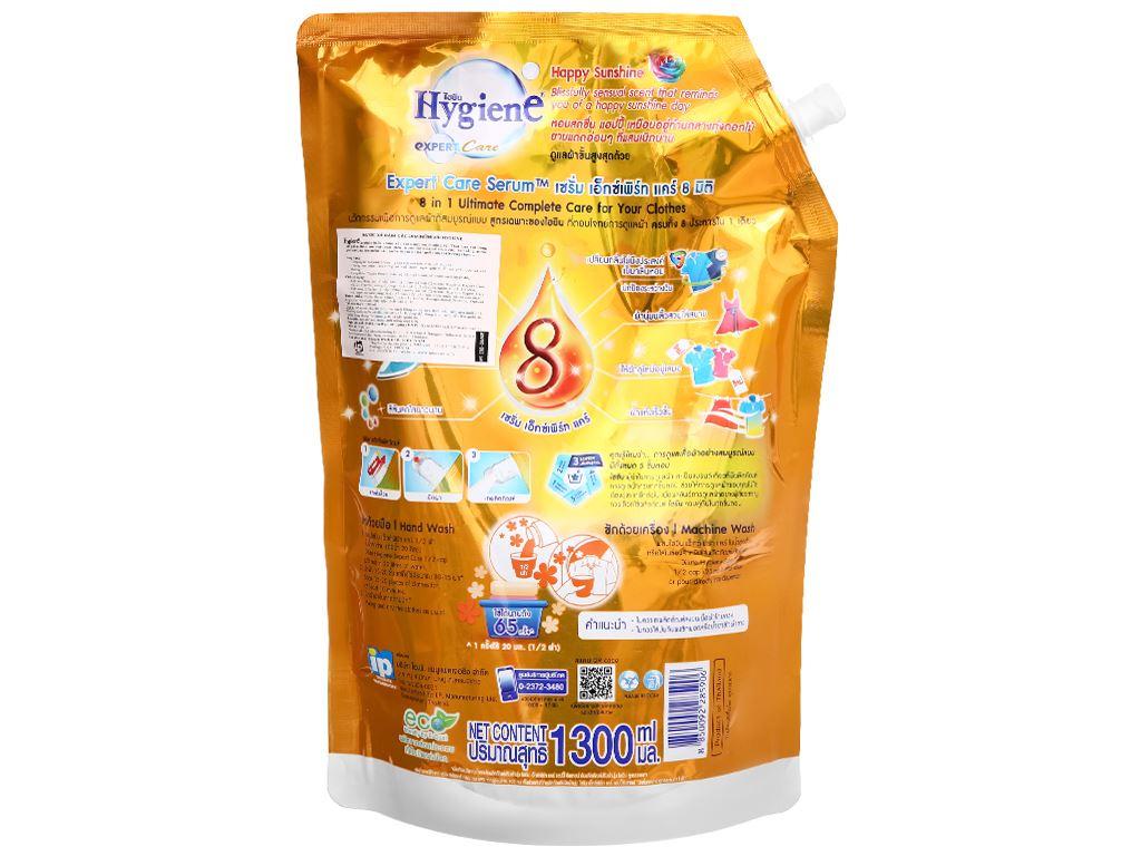 Nước xả vải Hygiene Expert Care cam túi 1.3 lít 2