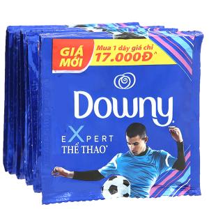 9 gói nước xả vải Downy Expert thể thao 20ml