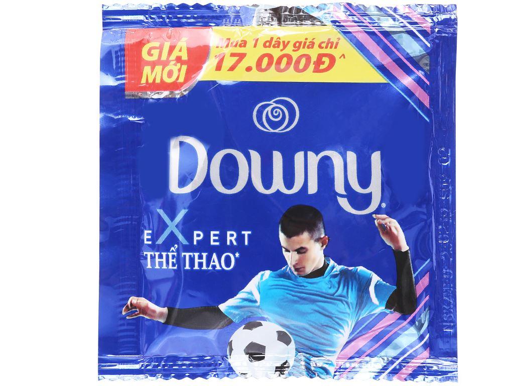 9 gói nước xả vải Downy Expert thể thao 20ml 2