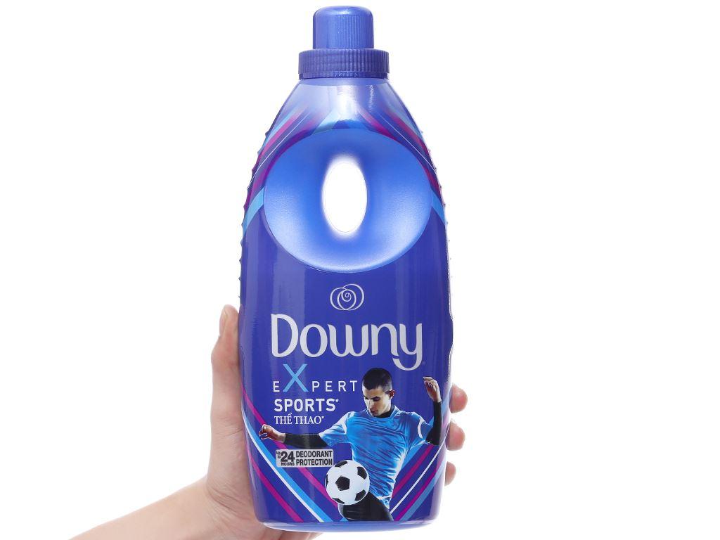 Nước xả vải Downy Expert thể thao chai 800ml 3