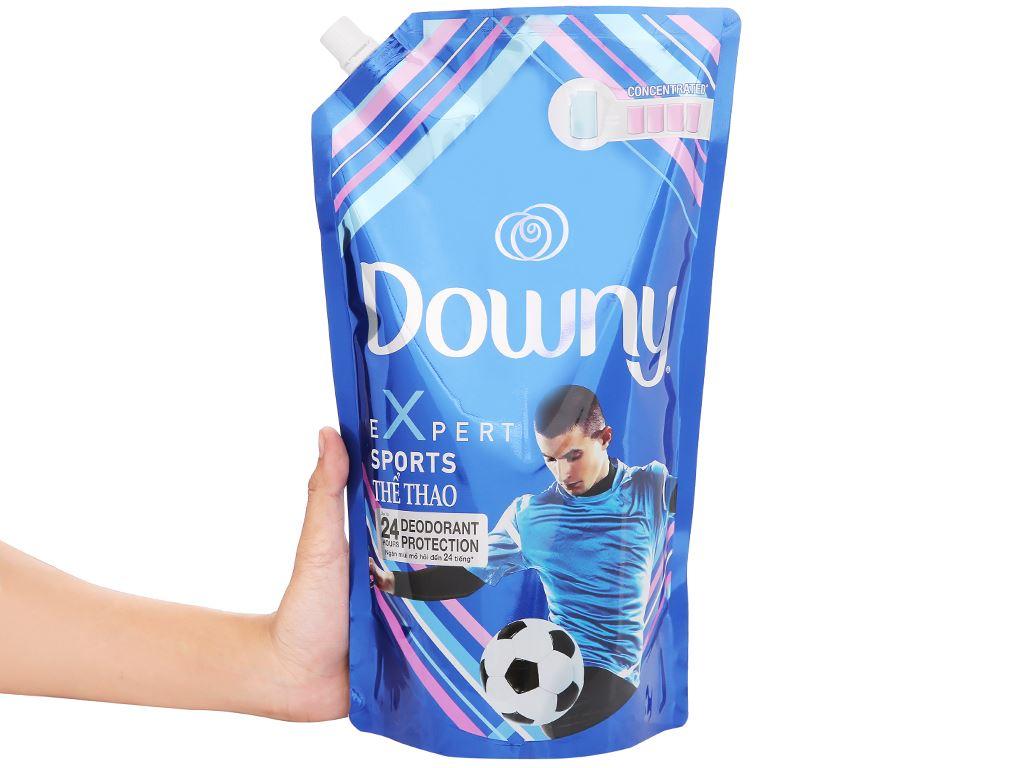 Nước xả vải Downy Expert thể thao túi 1.5 lít 6