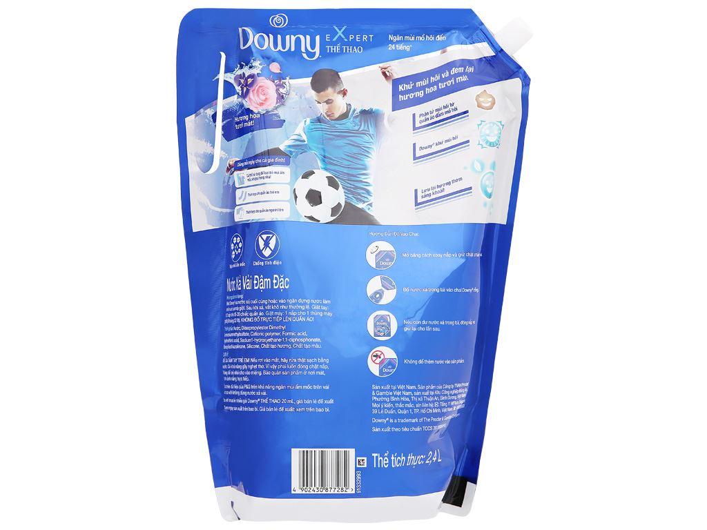 Nước xả vải Downy Expert thể thao túi 2.4 lít 4