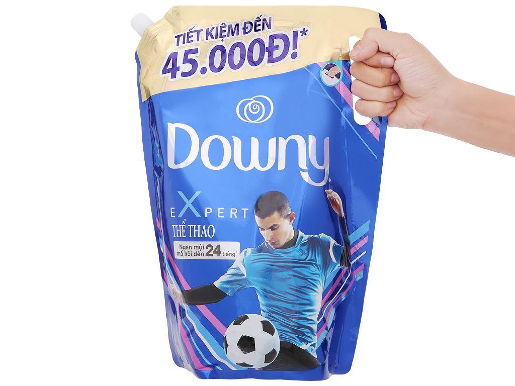 Nước xả vải Downy Expert thể thao túi 2.4 lít 9