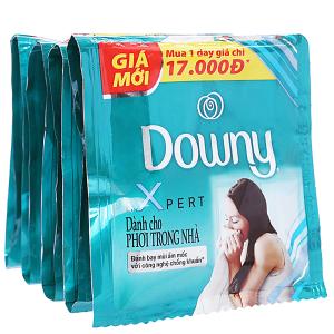 9 gói nước xả vải Downy Expert phơi trong nhà 20ml