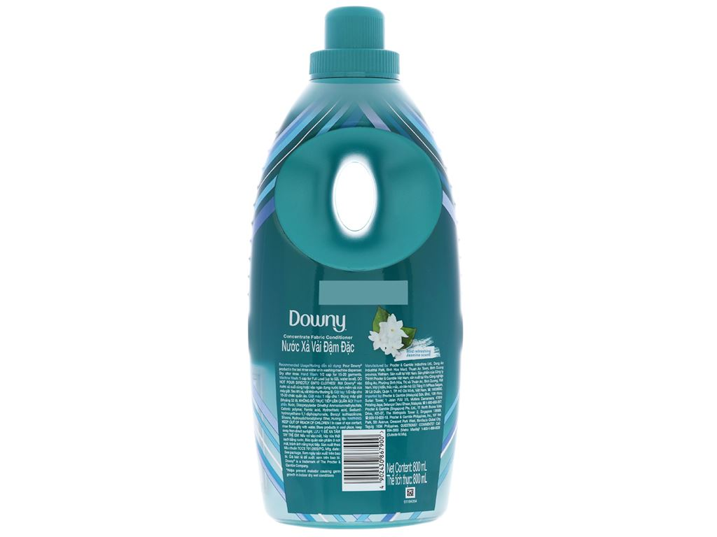 Nước xả vải Downy Expert phơi trong nhà chai 800ml 2