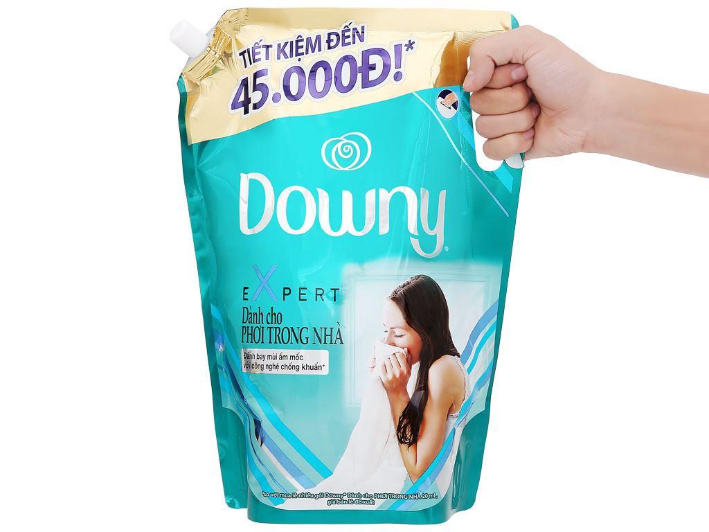 Nước xả vải Downy Expert phơi trong nhà túi 2.4 lít 9