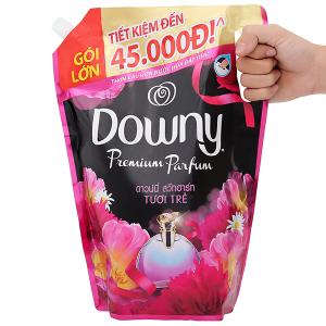 Nước xả vải Downy Premium Parfum tươi trẻ túi 2.4 lít