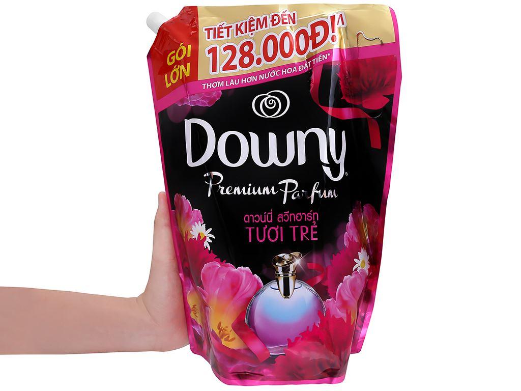 Nước xả vải Downy Premium Parfum tươi trẻ túi 2.3 lít 5