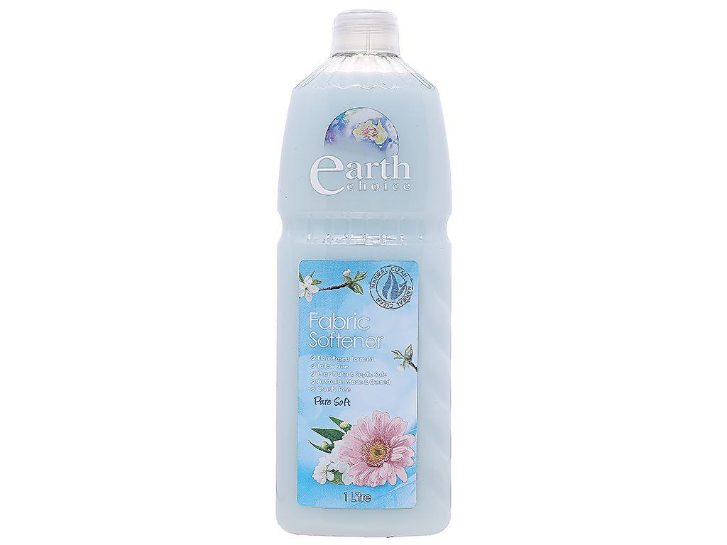 Nước xả vải Earth Choice cao cấp chai 1 lít 1