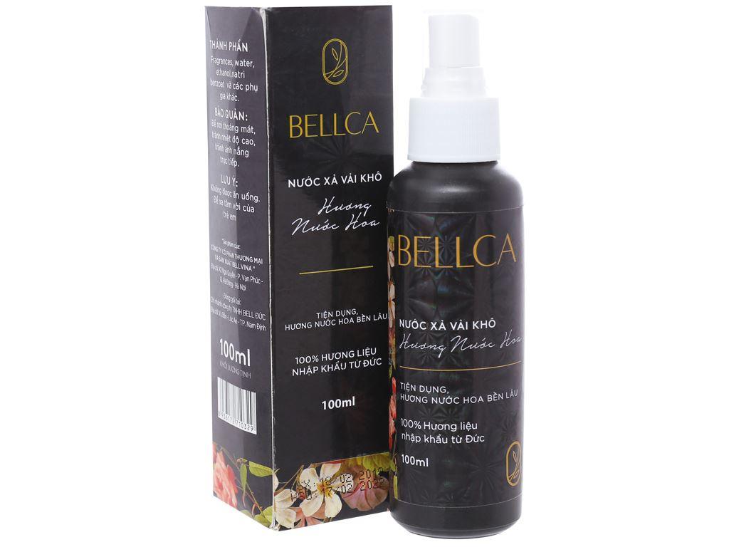 Nước xả vải khô Bellca hương nước hoa chai 100ml 1