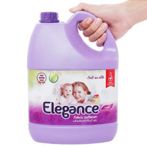 Nước xả vải Elegance tím ngọt ngào can 3.5 lít