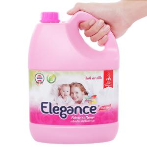 Nước xả vải Elegance hồng quyến rũ can 3.5 lít