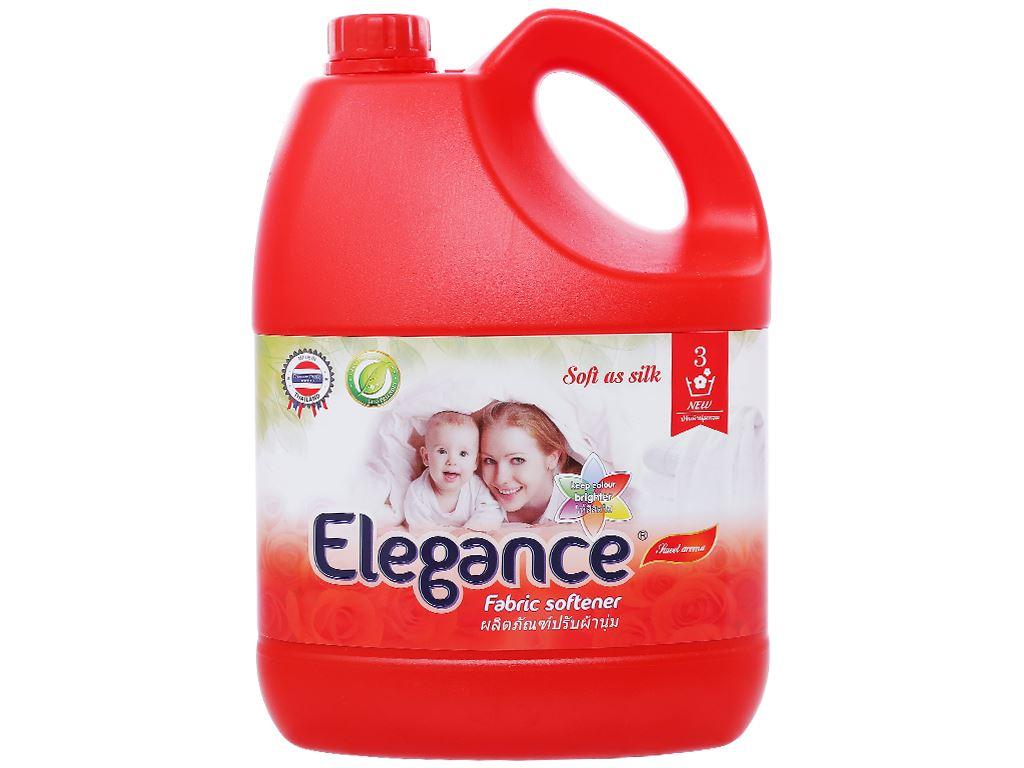 Nước xả vải Elegance đỏ đam mê can 3.5 lít 1