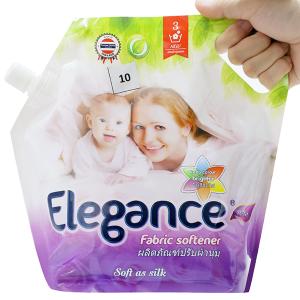 Nước xả vải Elegance tím ngọt ngào túi 1.8 lít