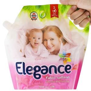 Nước xả vải Elegance hồng quyến rũ túi 1.8 lít