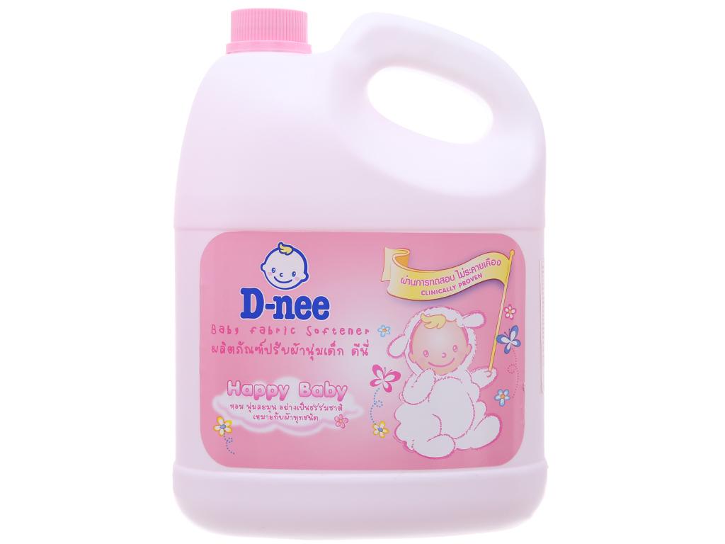 Nước xả vải cho bé D-nee hồng can 3 lít 1